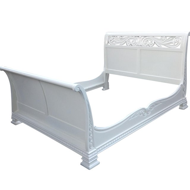 California King Sleigh Bed - Image 1 of 6