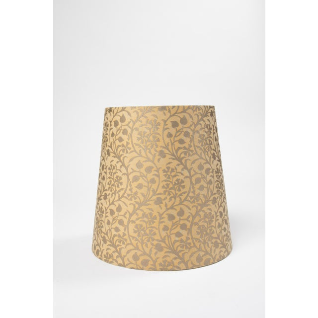 Contemporary Fortuny Lamp Shade in Granada For Sale - Image 3 of 3