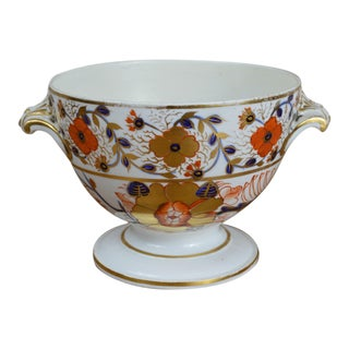 19th Century Crown Derby Old Japan Footed Bowl For Sale