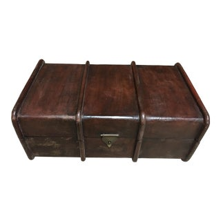 European Style Leather Box For Sale