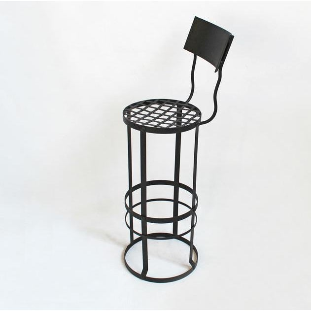 Industrial Woven Bar Stool - Image 3 of 3