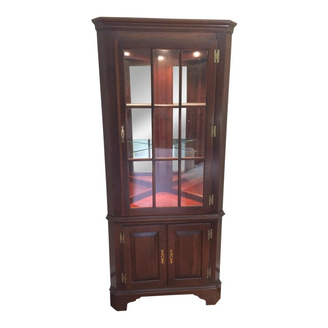 Jasper Corner China Cabinet For Sale