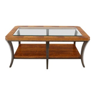 Henredon Six-Legged 2-Tier Coffee Table For Sale