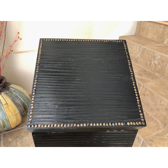 Document Box Accent Table From the Colonial Williamsburg Collection by Global Views For Sale - Image 9 of 13
