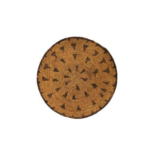 Native American Style 1920s Antique Mission Basket For Sale