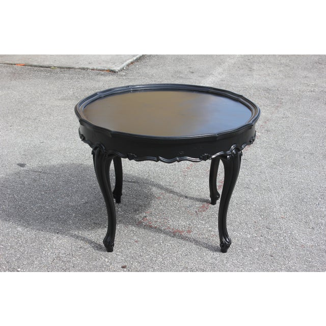 1910s French Louis XVI Coffee Table For Sale - Image 13 of 13