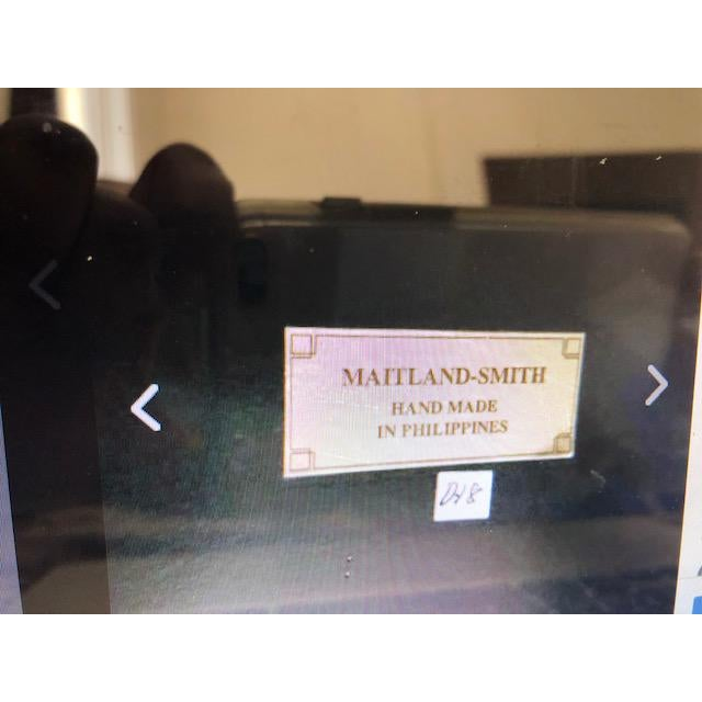 It is a Maitland Smith Contemporary wall art. It is a great conversation piece.