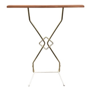 1950s Mid Century Modern Towel Stand For Sale
