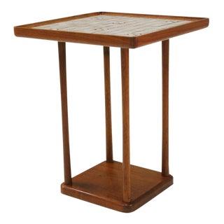 Gordon Martz Square Tile Top Occasional Table For Sale