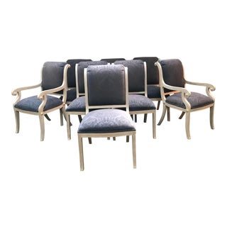 1990s Vintage Kreiss Dining Chairs - Set of 8 For Sale