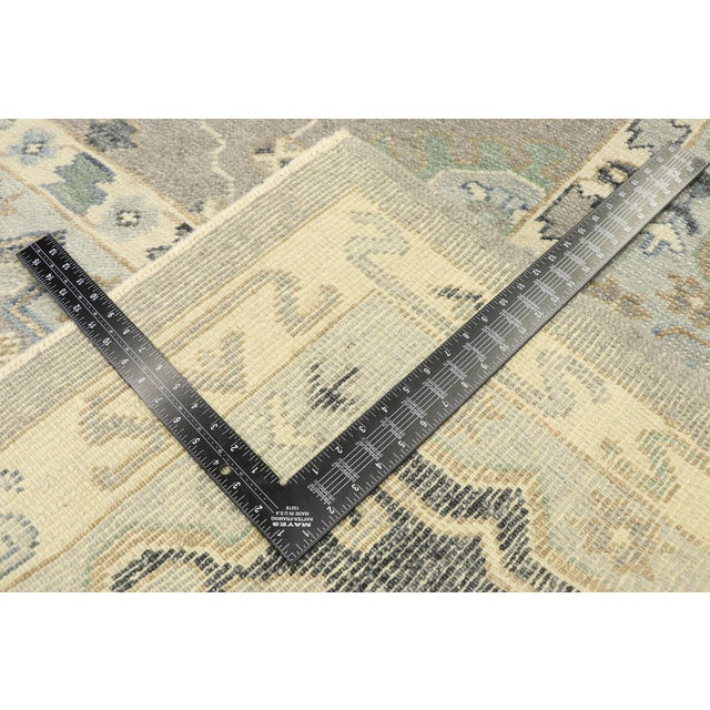 Early 21st Century Contemporary Turkish Oushak Rug With Modern Style - 08'11 X 12'07 For Sale - Image 5 of 9