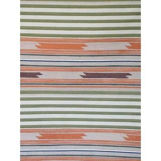 Scalamandre Cheyenne, Arancio Verde Fabric For Sale