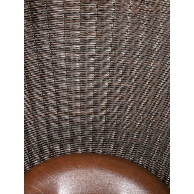 1960s Foglia Lounge Chair by Travasa for Bonacina For Sale - Image 5 of 8