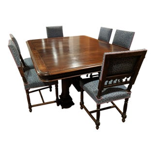 Black Forest Walnut Dining Set
