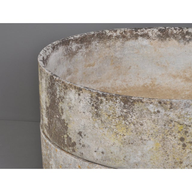 Bauhaus Round Form Jardiniere With Foot/ Switzerland 1960s For Sale - Image 3 of 6