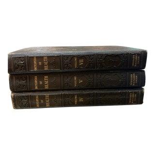 1930s Encyclopedia of Health Bernarr Macfadden Editor Edition, Volumes Iv, V, VII - Set of 3 For Sale