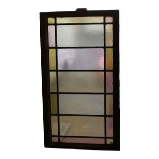 Early 20th Century Antique Tudor Stained Glass Window For Sale