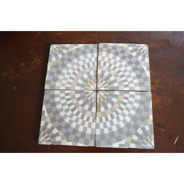 Antique Belgian Ceramic Tiles - Set of 4 - Image 3 of 11