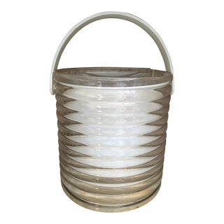 Atomic Lucite Ice Bucket