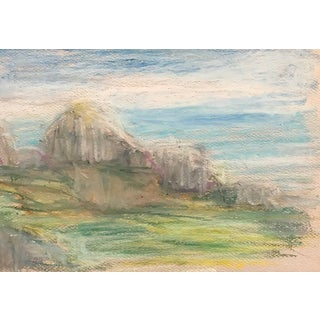 Impressionist Landscape by Inga-Britta Mills For Sale