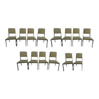 1970s Vintage Regency Style Painted Side Chairs- Set of 14 For Sale