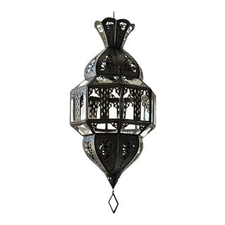 Handcrafted Moorish Glass Lantern, Octagonal Shape For Sale