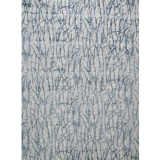 "Stark Studio Rugs Jeeves Rug in Blue, 2'7"" x 7'7"" For Sale"
