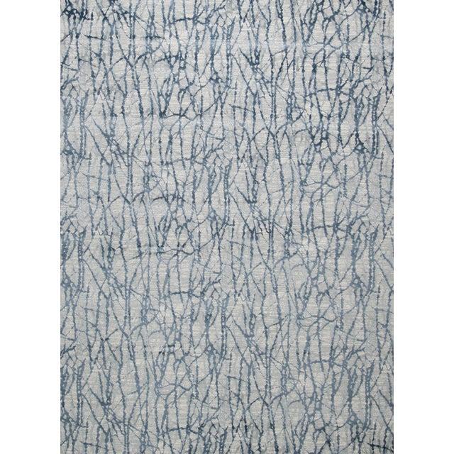 "Stark Studio Rugs Jeeves Rug in Blue, 2'7"" x 7'7"" For Sale"