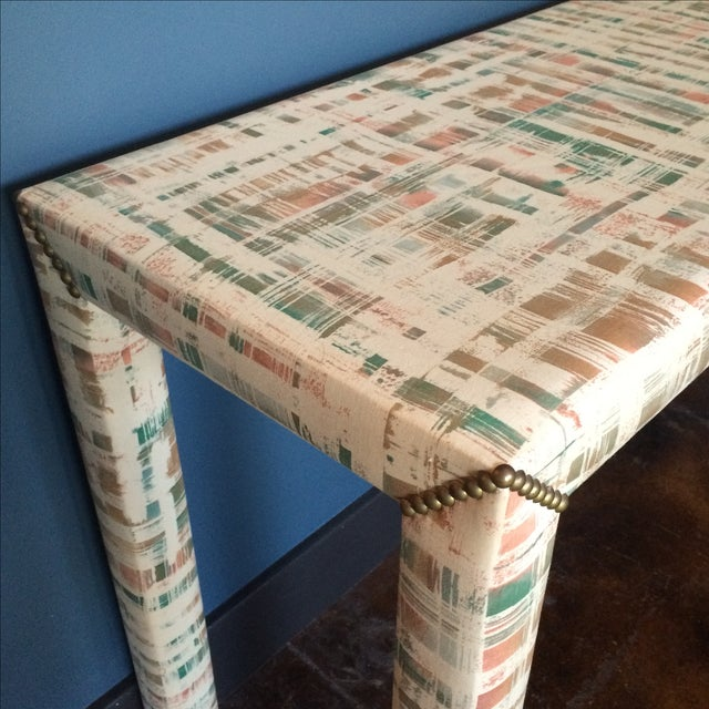 Upholstered Sofa Table - Image 10 of 11
