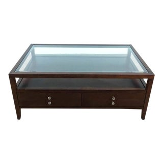 Coaster Furniture Company Glass Top Coffee Table