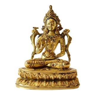 Sino Tibetan Figure of Tara For Sale