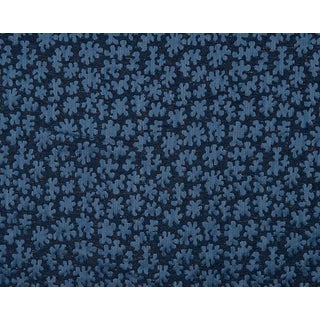 Hinson for the House of Scalamandre Joanna Fabric in Blue For Sale