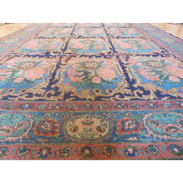 """This is a very unique Golfarang Bakhtiari with beautiful warm colors, great addition to your home! measurements are 7'4"""" X..."""