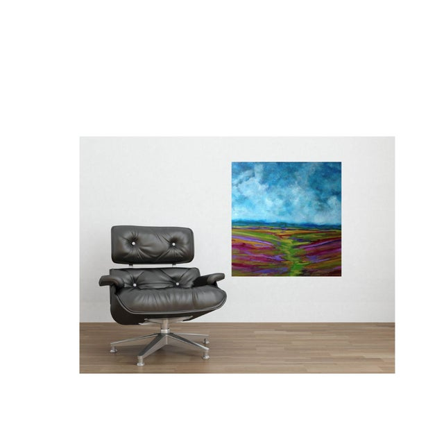 Bryan Boomershine Lavender Field Oil Painting - Image 3 of 3