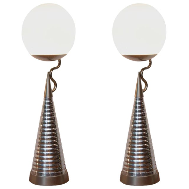 Studio Design Italia Table Lamps - a Pair - Image 1 of 7
