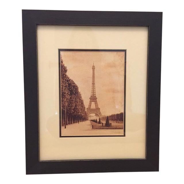 "Paris ""La Tour Eiffel"" Sepia Print by Artist Cristin Atria For Sale"