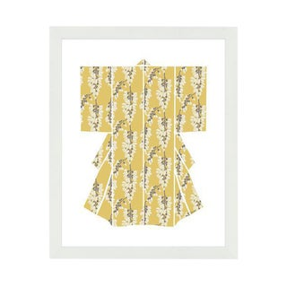"""""""Kimono- Heartbreaker White"""" Framed Wall Art For Sale"""