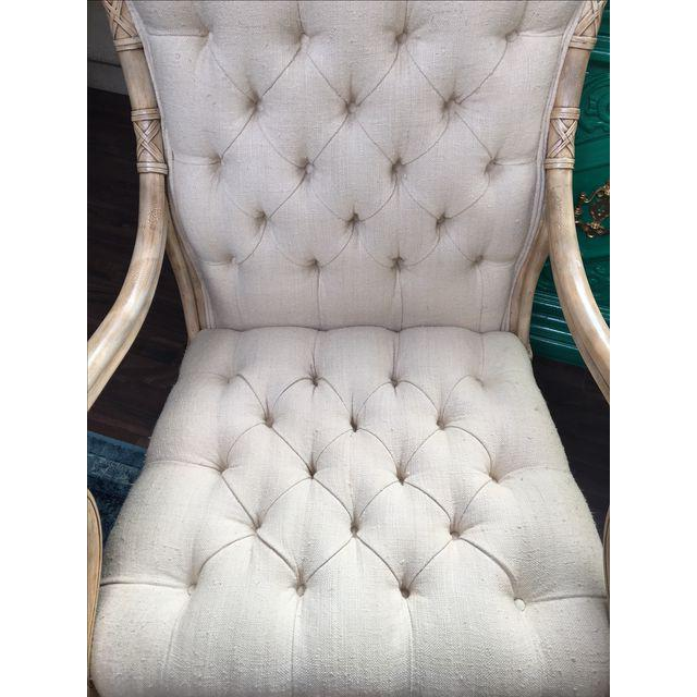 Maitland Smith Bamboo Claw Foot Chairs - Pair - Image 4 of 9