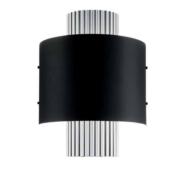 Art Deco Art Deco Style Polished Aluminium Wall Light For Sale - Image 3 of 3