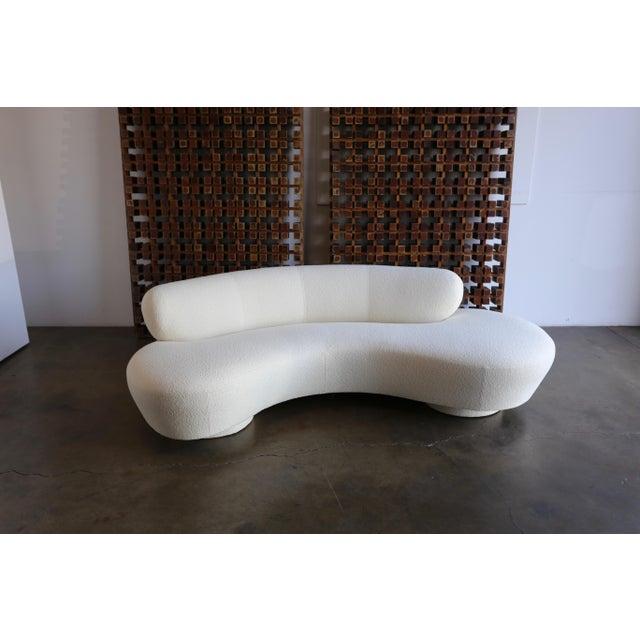 1970s Vladimir Kagan Serpentine Sofa For Sale - Image 5 of 12