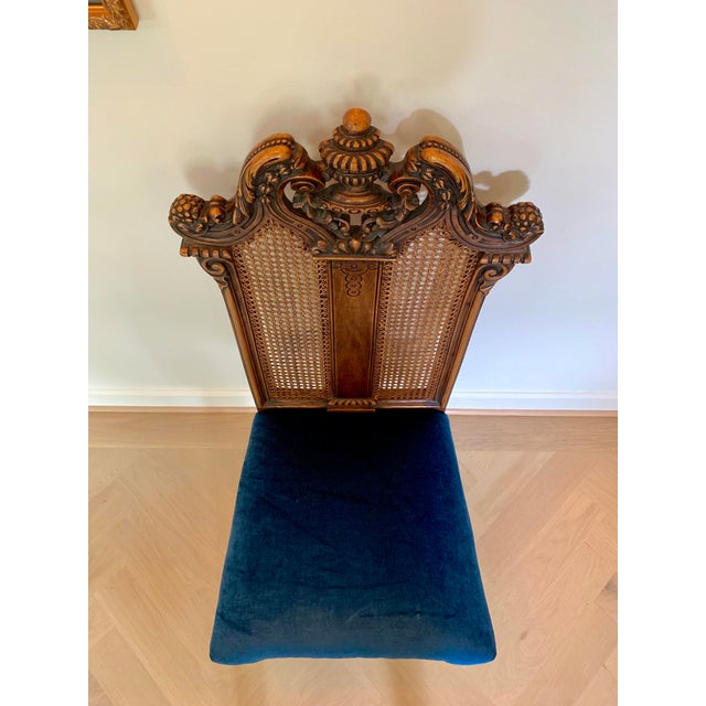 Early 20th Century Vintage Italian Rococo Chair For Sale - Image 9 of 10