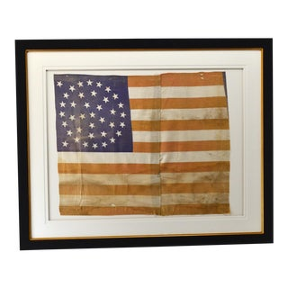 38 Star Flag With Medallion Star Arrangement For Sale