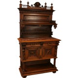 Image of 1900 Renaissance Server Sideboard French Henry II For Sale