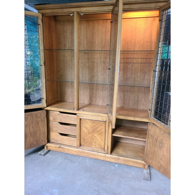 1960s Drexel Compatica China Cabinet For Sale In Houston - Image 6 of 13