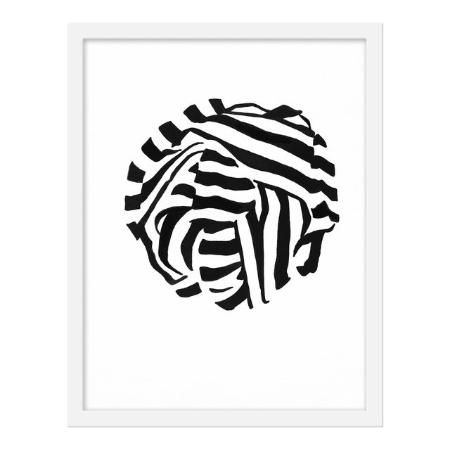 """Small """"White Knot 3"""" Print by Angela Chrusciaki Blehm, 16"""" X 20"""" For Sale"""