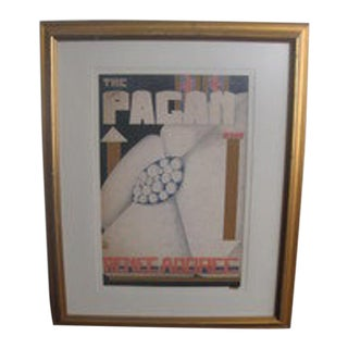 """Avis Zeidler Painting, """"The Pagan"""" For Sale"""