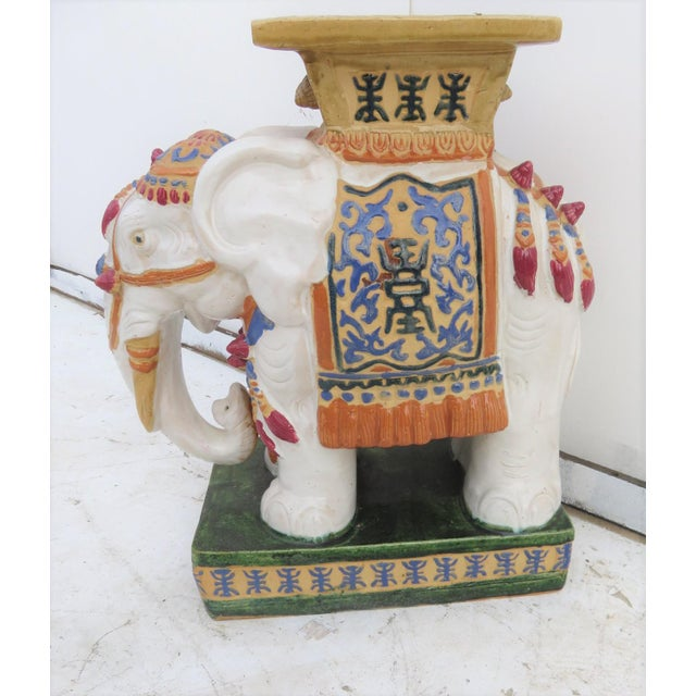 Chinese Elephant Garden Stool - Image 2 of 6