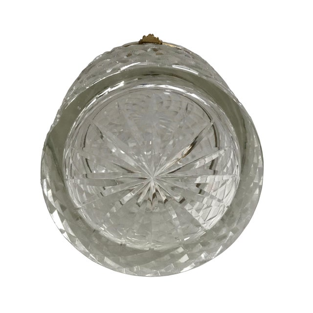 19th Century Large French Baccarat Crystal Box For Sale - Image 4 of 6