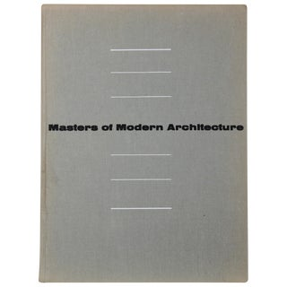 Masters of Modern Architecture