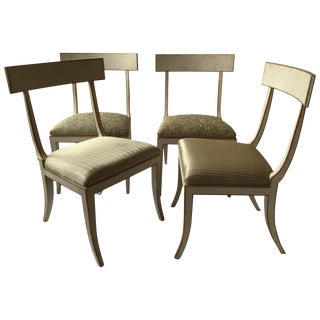 4 Elgin Major Side Chairs by Niermann Weeks For Sale